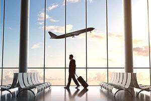 prendre l'avion pour Nice